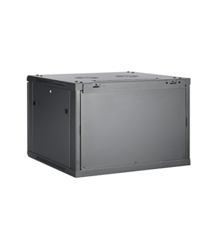 single section wall mounted network cabinet